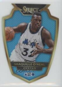 2014-15 Panini Select Premier Level Die-Cut Blue Prizm /199 Shaquille O'Neal HOF