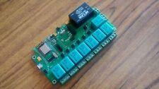 ESP8266 WIFI Eight Relay board on Nodemcu (Smart Strip) Home Automation & IOT