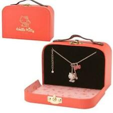 Hello Kitty x SWAROVSKI Pave Necklace with Trunk 2013 Sanrio Japan New F/S