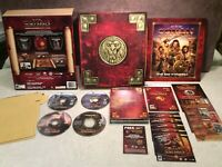 Age of Conan Hyborian Adventures Collector's Edition PC Game Complete 2008 Eidos
