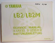 Werkstatthandbuch / Manuel D´Atelier / Service Manual Yamaha LB2/LB2M 78/79