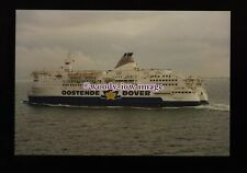 fq0106 - Belgian Oostende-Dover Ferry - Prins Filip c1993 - photograph 6x4