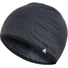 NWT adidas unisex run ski performance fleece beanie hat (F87930) Sz S dark grey