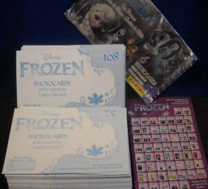 Choose Your Own Panini DISNEY FROZEN ICE DREAMS 1-108 Photocards Photoprints