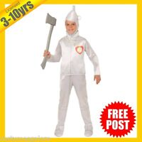 RUBIES Boys Costume Fancy Dress Licensed Wizard of Oz Mr Tin Man Deluxe 886491