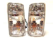 Front turn signal indicator blinker set pair for NISSAN Patrol 1987- 1992