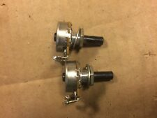 Pair of 1972 Stackpole 500k ohm Potentiometers Audio Taper Guitar Pots TESTED #2