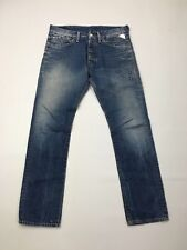 Men's Replay 'Straight' Jeans - W32 L32 - Faded Navy - Great Condition