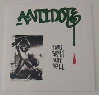 "Antidote Thou shalt not kill 7"" NEW NYHC Punk Hardcore Warzone Agnostic Front b9"