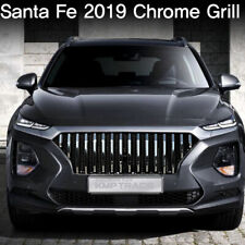 Chrome Vertical Billet Radiator Grill For Hyundai 2019-2020 Santa Fe TM Sports