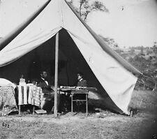 Battle of Antietam - Abraham Lincoln McClellan Sharpsburg 8x10 Civil War Photo