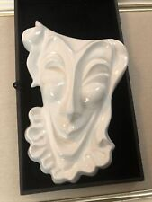 Comedy & Tragedy Ceramic Face Masks Wall Decor