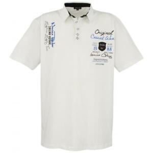Polo-Shirt LAVECCHIA Übergröße 3XL,4XL,5XL,6XL,7XL,8XL, weiß,gelb,mint,rot,blau