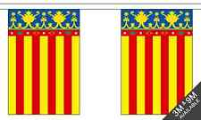 Spain Valencia -  9 metre long, 30 flag bunting