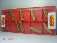 10X SANDVIK N123H2-0400-0004-TF 4325 WENDESCHNEIDPLATTEN CARBIDE INSERTS