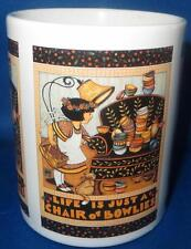 Mary Engelbreit Life Just Chair of Bowlies Coffee Tea Mug Cup Ceramic