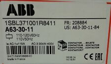 NEW IN BOX! ABB Contactor A63-30-11 1SBL371001R8411