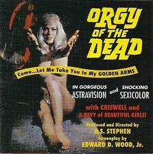 ORGY OF THE DEAD soundtrack NEW sealed ED WOOD movie out of print