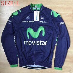 Men's Long Sleeve Cycling Jersey Top Bike Riding MTB Jersey Shirts Size L