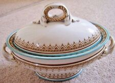 Victorian Royal Worcester England porcelain oval tureen- bowl with cover
