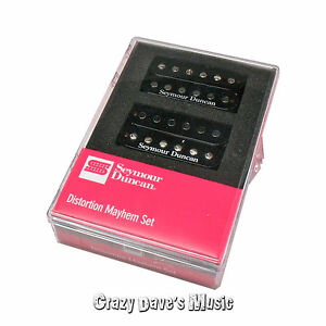 Seymour Duncan Distortion Mayhem Humbucker Pickup Set 11108-21-B openbox