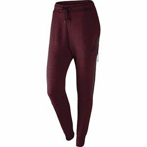 Nike Tech Fleece Women's Pant Night Maroon-Heather-Obsidian 683800-681