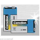 10 X Camelion Professional Lithium 9 V Block Rauchmelder Batterie Lr61 Pp3 lose