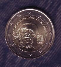 NOUVEAU PIECE 2 EUROS  FRANCE 2012 - CENTENAIRE NAISSANCE ABBE PIERRE NEUVE.