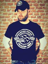 Biker T-Shirt Thruxton Cafe Racer BMW Rockers London Ace Cafe Monkeys Harley