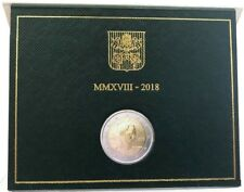 Vatikan 2 € Euro Gedenkmünze 2018 BU 50. Todestag Pater Pio, sofort lieferbar