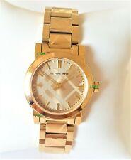 Burberry Watch Womens Gold Dial Gold Band Gold Case BU9234 Genuine Mini VIP