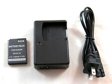 Charger and Battery for Nikon Coolpix S800c, S1000pj, S1100pj, S1200pj