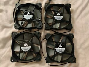 NEW Corsair 4 x 120mm Fans / Low-noise / Low-speed / High Static Pressure 4-PIN