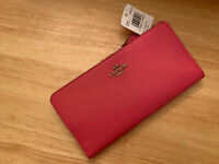 Coach Skinny Wallet in Refined Leather phone Holder ~NWT~ confetti Pink 58586
