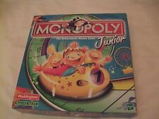 Junior Monopoly The Rollercoaster Money Game Copy of the rules but rest complete