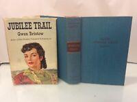 """VTG 1950 """"JUBILEE TRAIL"""" By Gwen Bristow ~ 1st Thus BCE HB/DJ In Mylar"""