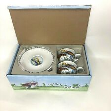 Paul Cardew Alice in Wonderland Mad Hatter's Tea Party Cup And Saucer Set/2 8oz