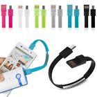 Micro USB vers Charge Câble Bracelet Données Synchronisation Cordon Pour Android