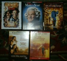 Lot of 5 Robin Williams movies on Dvd - hook , what dreams may come, good wil