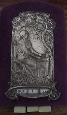 Antique very unusual Art Nouveau religious? wall calendar