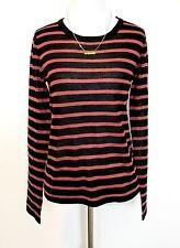 Maison Scotch Scotch & Soda Black Stripe Sweater NWT Retail $109 Price $54 Sz XS