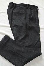 Paul & Shark Smart Elegant Tailored Speckled Cuffed Trousers UK 14 EU 44 US 8