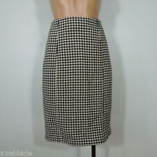 CYNTHIA STEFFE Women's Pencil Wool Blend Skirt size 4