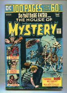 HOUSE OF MYSTERY #225 - 2ND 100 PG GIANT - SPECTRE - WRIGHTSON 1 PG - 1974