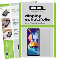 2x Folie für Samsung Galaxy M11 Schutzfolie matt Displayschutz Display Schutz