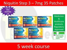 Niquitin Patches Step 3 - 7mg x 35 Patches UK SELLER EXP 11/2021 STOP SMOKING