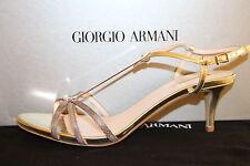 GIORGIO ARMANI DAMENSANDALEN, Gr. 38 / UK 5 / US 8, Made in Italy