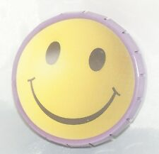 Pop-Up Tabacco Tin / Smiley Happy Face Metal Case