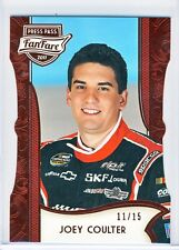 Joey Coulter 2011 Press Pass FanFare Racing Red Diecut Card 11/15