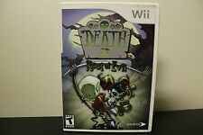 Death Jr.: Root of Evil  (Wii, 2008) *Tested/Complete